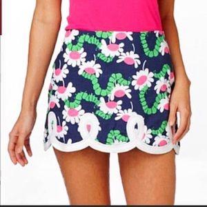 Lilly Pulitzer Yum Yum Tate Embroiled Mini Skirt